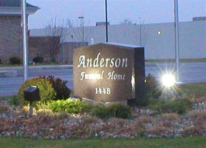 Commercial Sign – Anderson