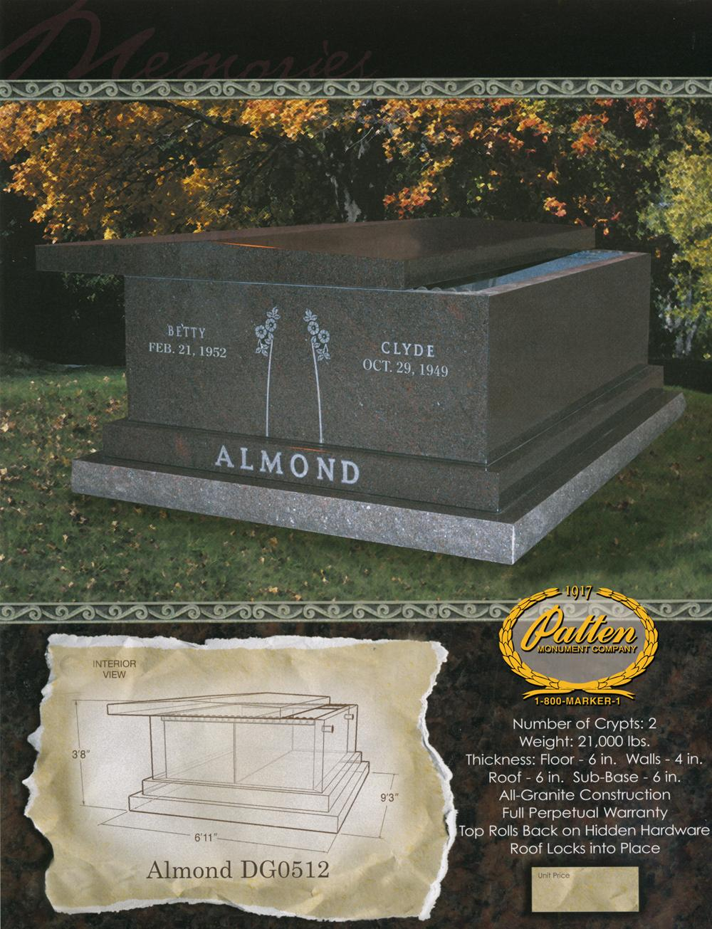 Almond Double Mausoleum