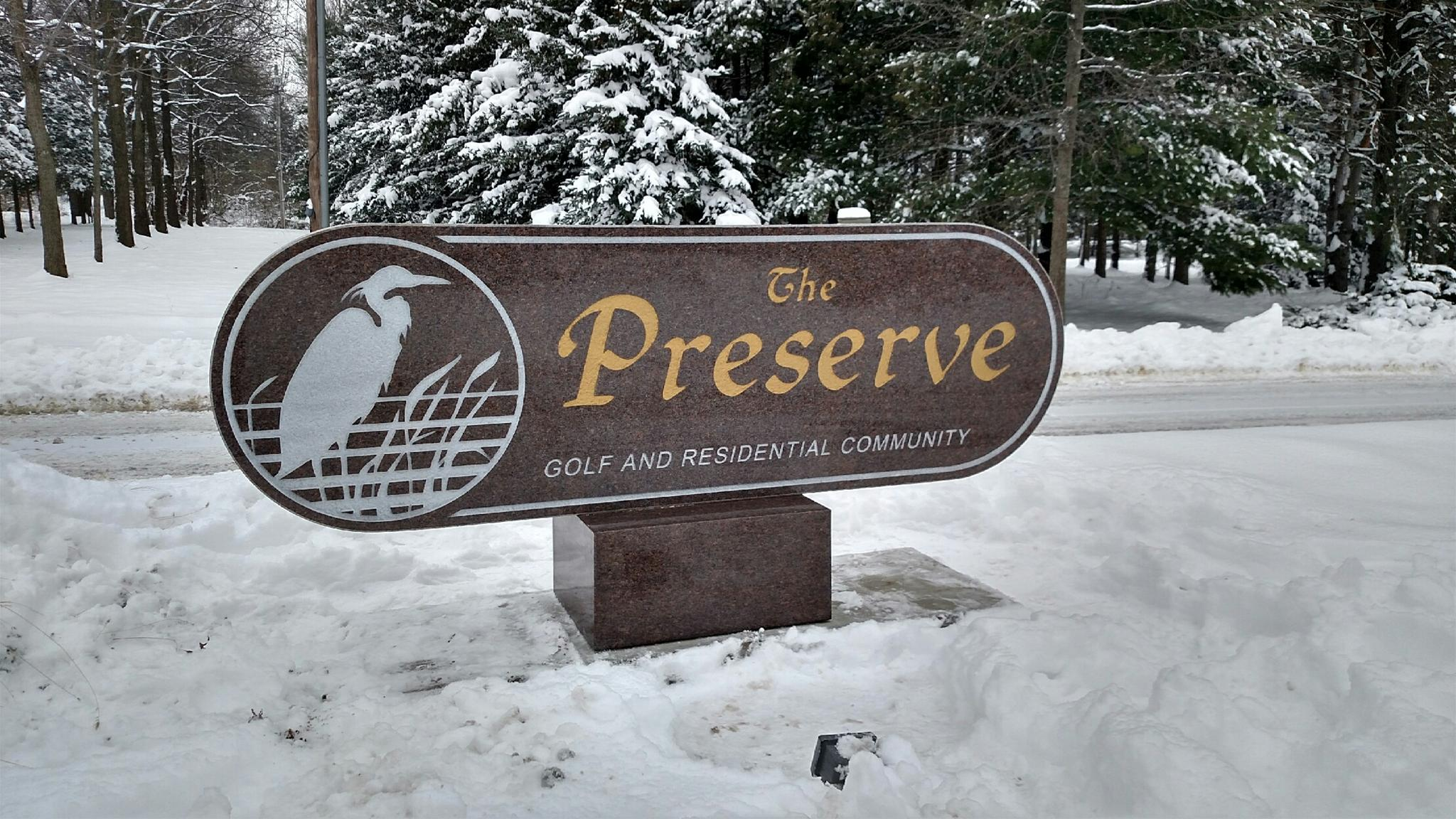 Commerical Sign – Preserve
