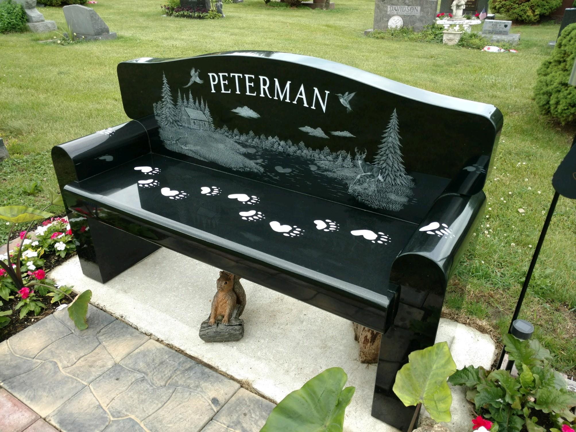 Peterman Bench Front