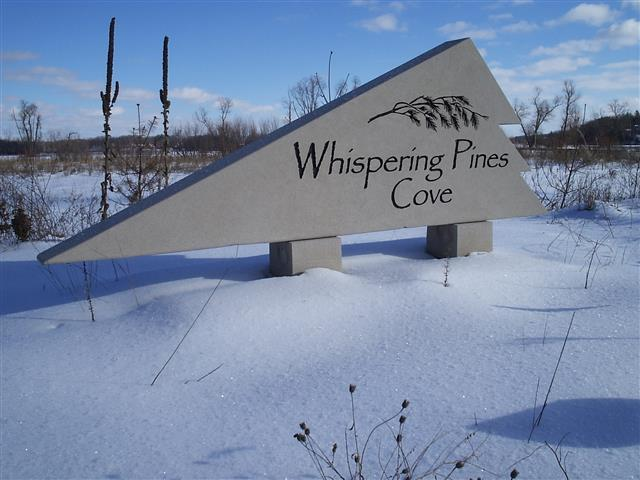Commercial Sign – Whispering